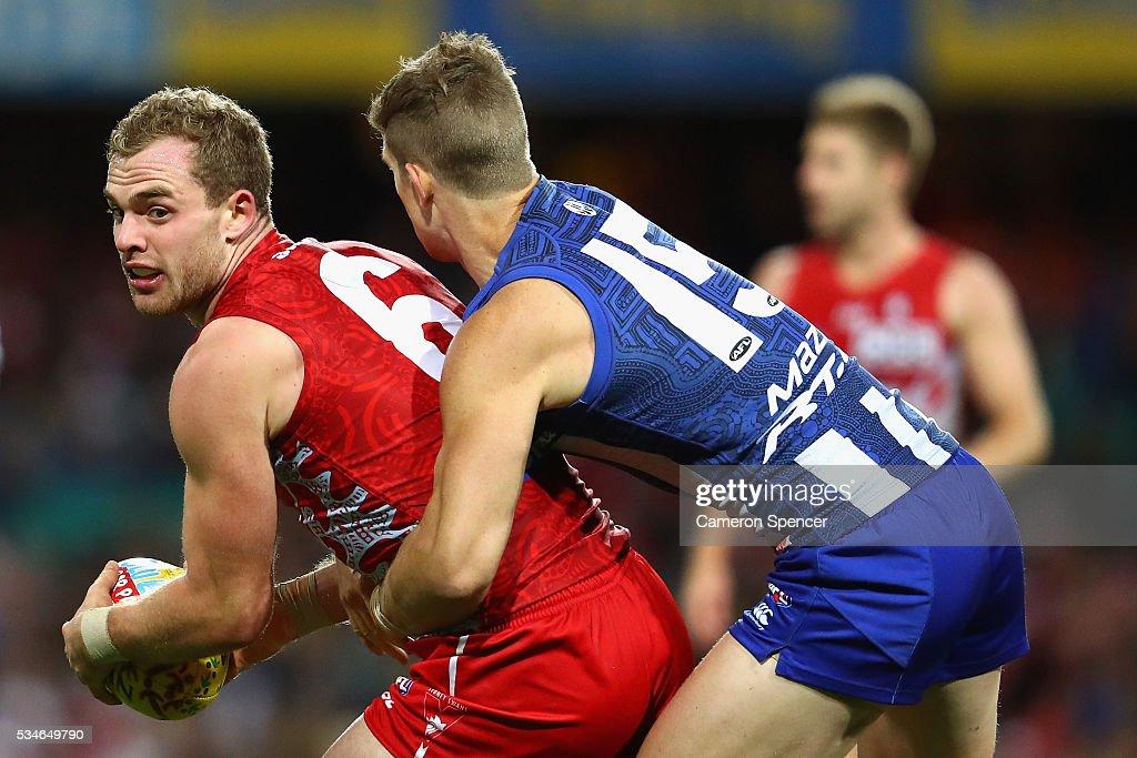 AFL Rd 10 - Sydney v North Melbourne : News Photo