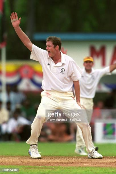 Tom Moody of Australia appeals for a wicket
