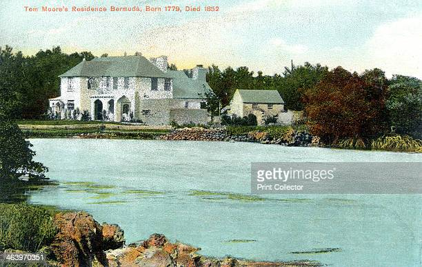 Tom Moor's residence Bermuda c1900s Published by The Bermuda Catering Company