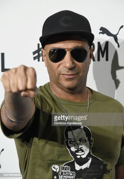 Tom Morello attends the 4th Annual TIDAL X Brooklyn at Barclays Center of Brooklyn on October 23 2018 in New York City