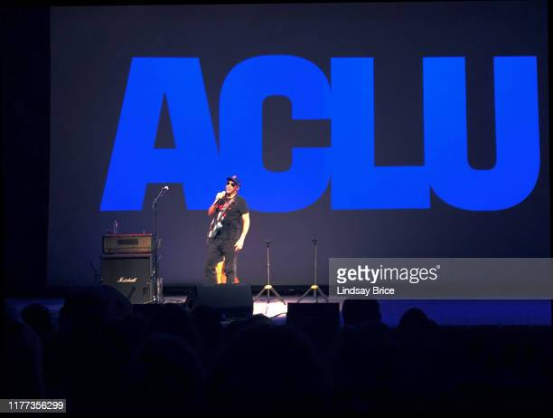 Tom Morello relates an experience in his youth when the ACLU supported students' Constitutional rights as he performs during a threenight engagement...