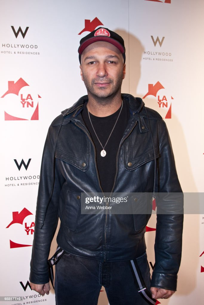 Tom Morrello arrives to Los Angeles Youth Network Benefit Rock Concert at the Avalon on November 22, 2009 in Hollywood, California.