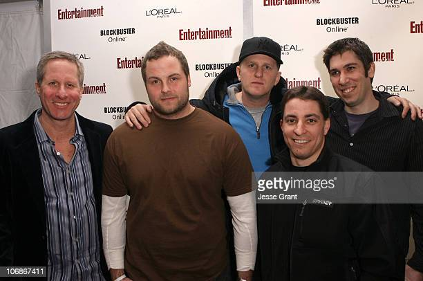Tom Morrissy Associate Publisher Sales Marketing Entertainment Weekly Jeremy Passmore Michael Rapaport and Hal Haberman