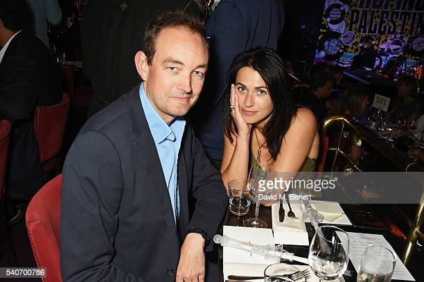 Tom Mullion and Emily Sheffield attend 'Hoping's Greatest Hits' the 10th anniversary of The Hoping Foundation's fundraising event for Palestinian...