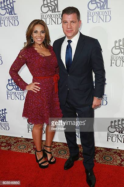Tom Murro and Dolores Catania attend the 31th Annual Great Sports Legends Dinner to benefit The Buoniconti Fund to Cure Paralysis at The Waldorf...