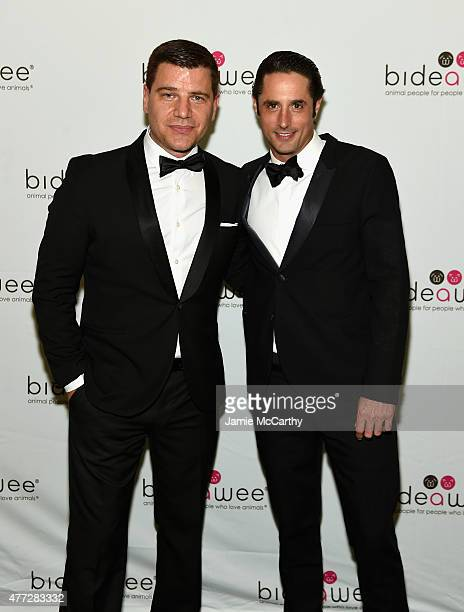 Tom Murro and Prince Lorenzo Borghese attend the 2015 Bideawee Ball with Former Bachelor Star Prince Lorenzo Borghese on June 15, 2015 in New York...