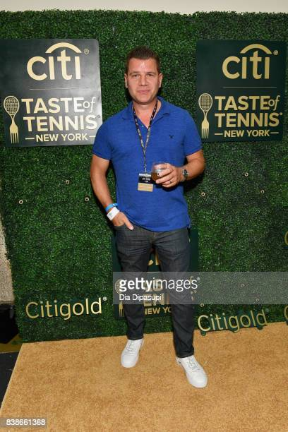 Tom Murro attends the Citi VIP Lounge at Taste Of Tennis at W New York on August 24 2017 in New York City