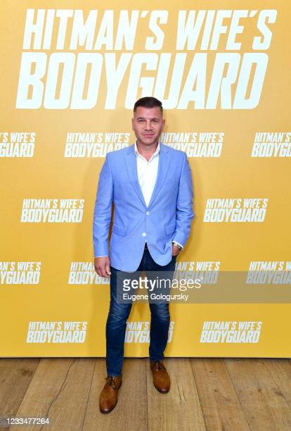 """Tom Murro attends the """"Hitman's Wife's Bodyguard"""" special screening at Crosby Street Hotel on June 14, 2021 in New York City."""