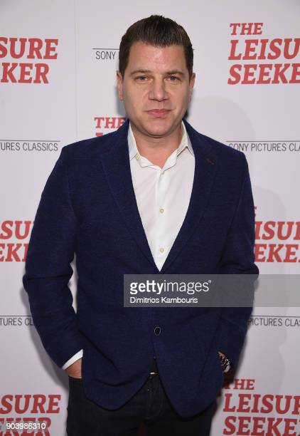 Tom Murro attends The Leisure Seeker New York Screening at AMC Loews Lincoln Square on January 11 2018 in New York City