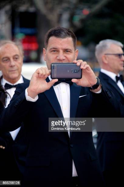 Tom Murro attends the New York City Ballet's 2017 Fall Fashion Gala at David H Koch Theater at Lincoln Center on September 28 2017 in New York City