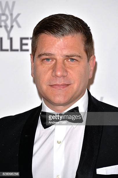 Tom Murro attends the New York City Ballet's Spring Gala on May 04 2016 in New York New York