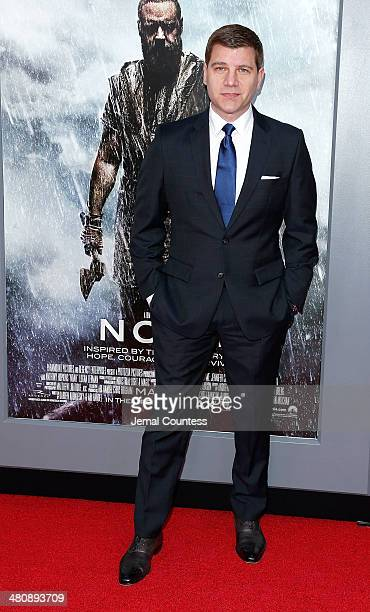 Tom Murro attends the New York Premiere of Noah at Clearview Ziegfeld Theatre on March 26 2014 in New York City