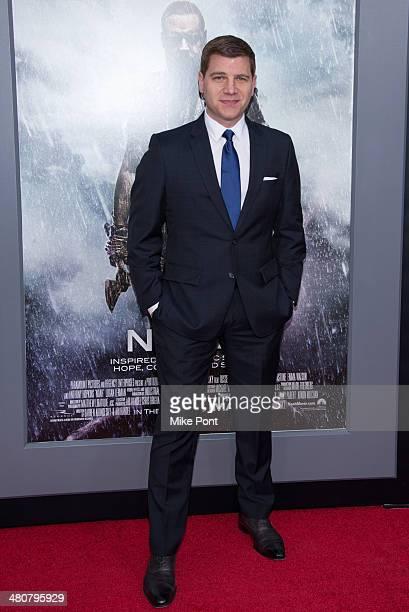 Tom Murro attends the Noah premiere at Ziegfeld Theatre on March 26 2014 in New York City