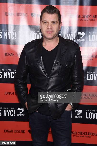 Tom Murro attends the Second Annual LOVE ROCKS NYC A Benefit Concert for God's Love We Deliver at Beacon Theatre on March 15 2018 in New York City