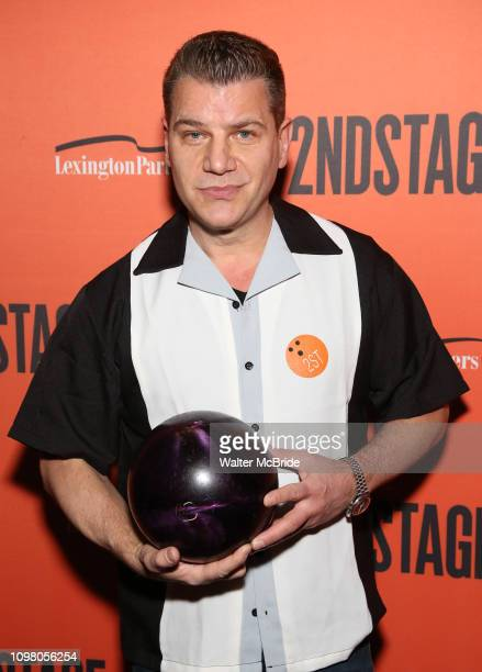 Tom Murro attends The Second Stage Theater's 32nd Annual AllStar Bowling Classic at the Lucky Strike on February 11 2019 in New York City