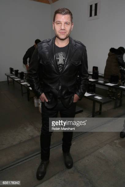 Tom Murro attends the Zang Toi collection during New York Fashion Week The Shows at Pier 59 on February 13 2017 in New York City