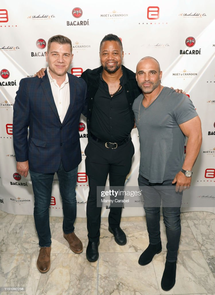 NY: Cuba Gooding Jr. & Anna Rothschild Host Marble Downtown