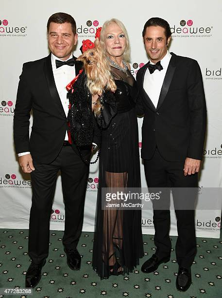 Tom Murro, Grace Forster and Prince Lorenzo Borghese attend the 2015 Bideawee Ball with Former Bachelor Star Prince Lorenzo Borghese on June 15, 2015...