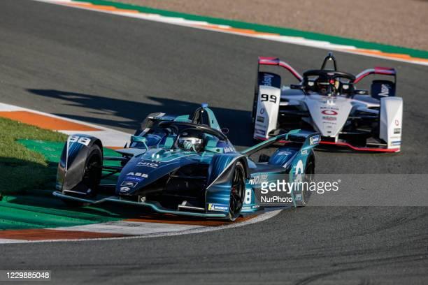 Tom , Nio 333 FE Team, Nio 333 FE 001, action and 99 WEHRLEIN Pascal , TAG Heuer Porsche Formula E Team, Porsche 99X Electric, action during the ABB...