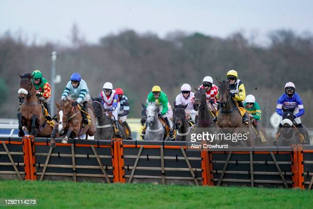 Tom O'Brien riding Not So Sleepy on their way to winning The Betfair Exchange Trophy at Ascot Racecourse on December 19, 2020 in Ascot, England....