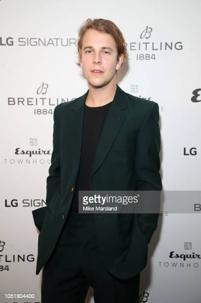 Tom Odell attends Esquire Townhouse in accation with Breitling at Esquire Townhouse on October 11 2018 in London England