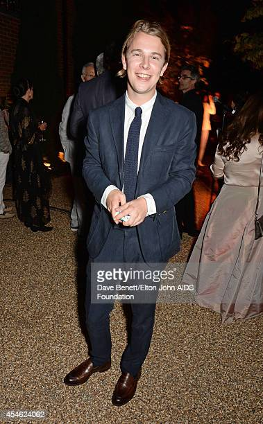 APPLIES Tom Odell attends the Woodside End of Summer party to benefit the Elton John AIDS Foundation sponsored by Chopard and Grey Goose at Woodside...