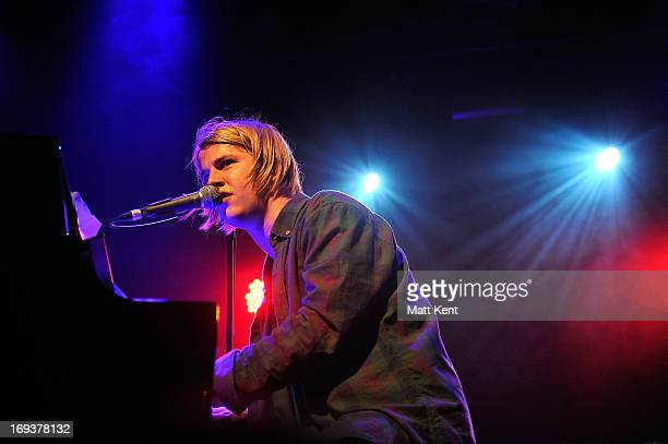 Tom Odell performs at the Electric Ballroom on May 23 2013 in London England