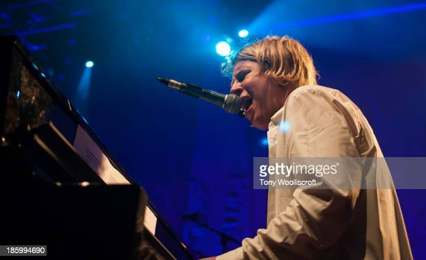 Tom Odell performs at The Institute on October 26 2013 in Birmingham England