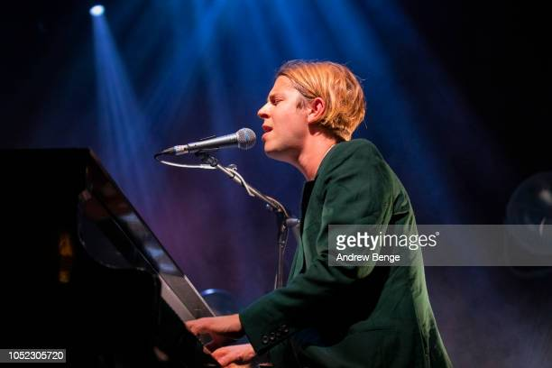 Tom Odell performs live at O2 Academy Leeds on October 16 2018 in Leeds England