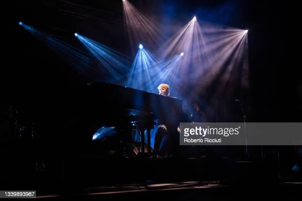 Tom Odell performs on King Tut's Stage on the third day of TRNSMT Festival 2021 on September 12, 2021 in Glasgow, Scotland.