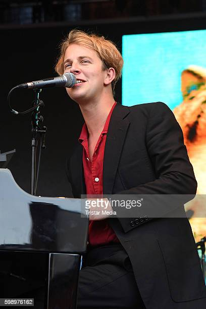 Tom Odell performs the Energy Music Tour 2016 on September 3 2016 in Berlin Germany