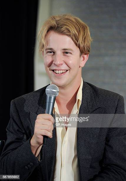 Tom Odell visits Saks Fifth Avenue on August 9 2016 in Toronto Canada