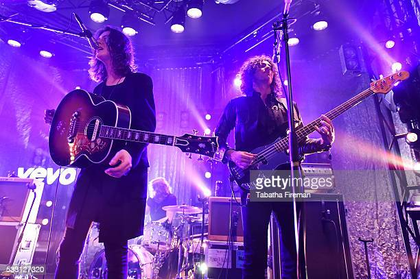 Tom Ogden and Charlie Salt of Blossoms peform the late night show at The Wagner Hall on day 2 of The Great Escape on May 19 2016 in Brighton England