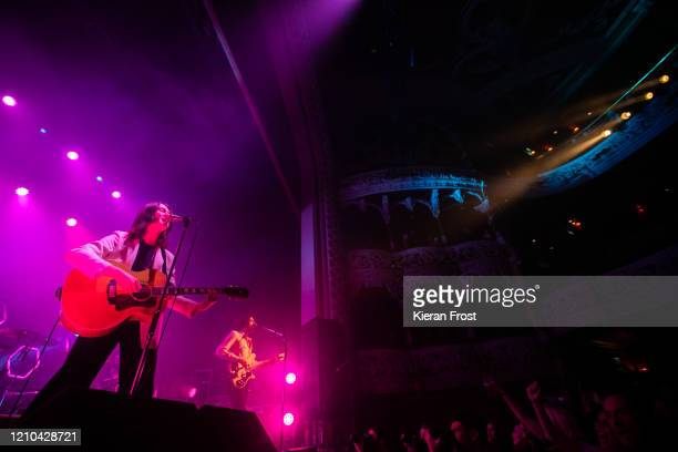 Tom Ogden and Charlie Salt of Blossoms perform at Olympia Theatre on March 04 2020 in Dublin Ireland