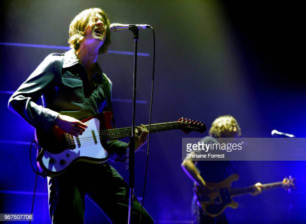 Tom Ogden and Charlie Salt of Blossoms perform live on stage at O2 Apollo Manchester on May 11 2018 in Manchester England