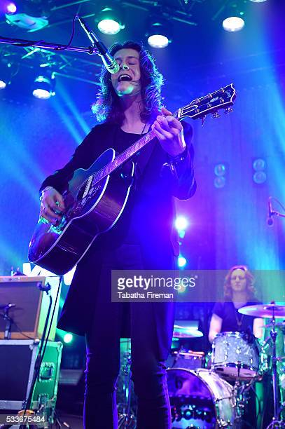 Tom Ogden of Blossom peforms the late night show at The Wagner Hall on day 2 of The Great Escape on May 19 2016 in Brighton England