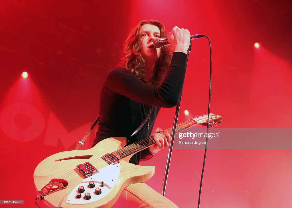 Tom Ogden of Blossoms perform live on stage at The Roundhouse on March 23, 2017 in London, United Kingdom.