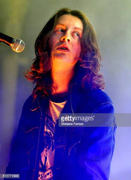 Tom Ogden of Blossoms performs at Albert Hall on February 27 2016 in Manchester England