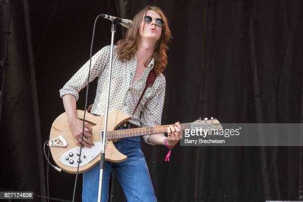 Tom Ogden of Blossoms performs at Grant Park on August 5 2017 in Chicago Illinois