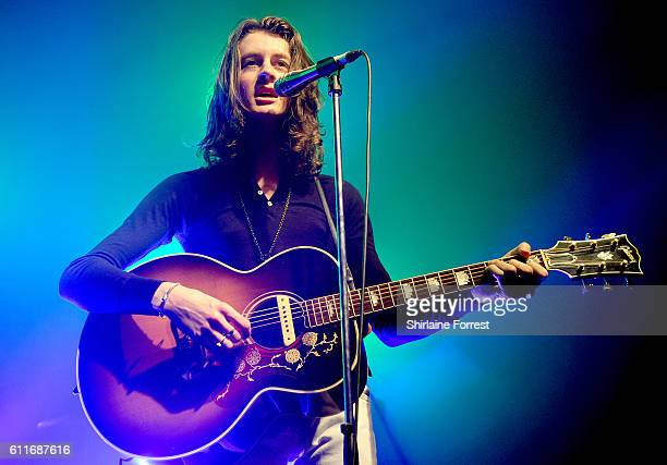 Tom Ogden of Blossoms performs at O2 Academy Manchester on September 30 2016 in Manchester England