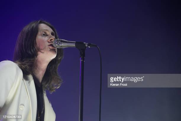 Tom Ogden of Blossoms performs at Olympia Theatre on March 04 2020 in Dublin Ireland
