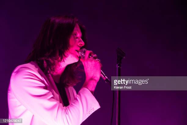 Tom Ogden of Blossoms performs at Olympia Theatre on March 04, 2020 in Dublin, Ireland.