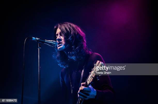Tom Ogden of Blossoms performs at The Forum on September 29 2016 in London England