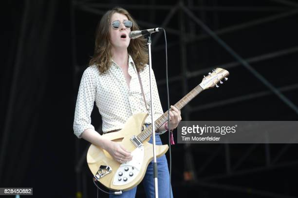 Tom Ogden of Blossoms performs during Lollapalooza 2017 at Grant Park on August 5 2017 in Chicago Illinois