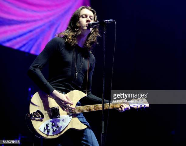 Tom Ogden of Blossoms performs during the 'We Are Manchester' benefit concert at Manchester Arena on September 9 2017 in Manchester England...