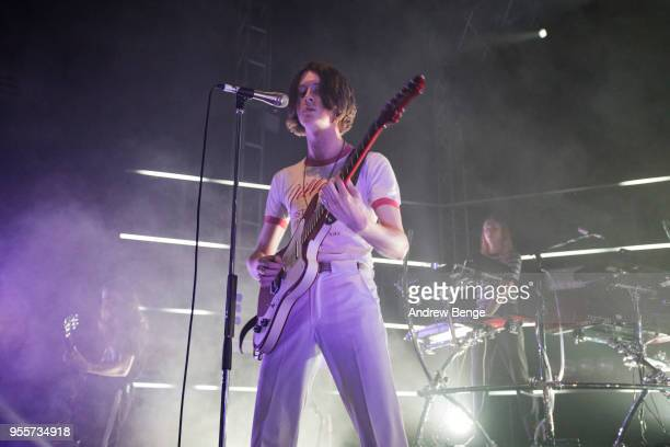 Tom Ogden of Blossoms performs live on stage at O2 Academy Leeds on May 7, 2018 in Leeds, England.