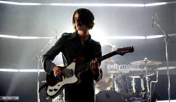 Tom Ogden of Blossoms performs live on stage at O2 Apollo Manchester on May 11 2018 in Manchester England