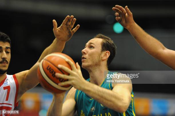 Tom O'NneillThorne of Australia in action during the Wheelchair Basketball World Challenge Cup match between Turkey and Australia at the Tokyo...