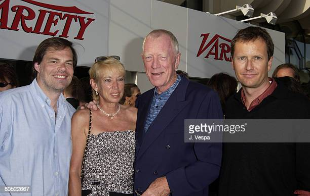 Tom Ortenberg President of Lion's Gate Films Releasing Catherine von Sydow Max von Sydow and Michael Burns