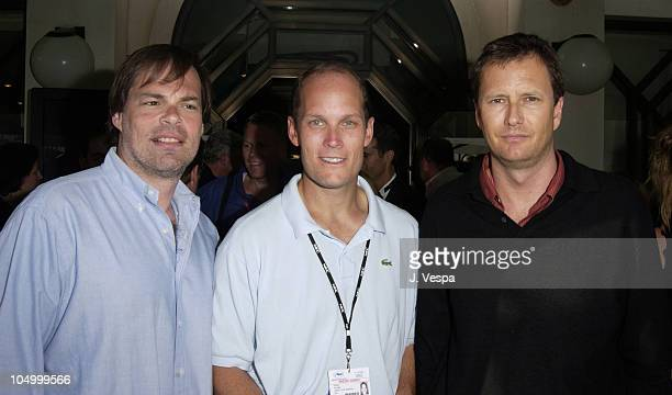 Tom Ortenberg President of Lion's Gate Films Releasing Charles C Koones 'Variety' publisher and Michael Burns